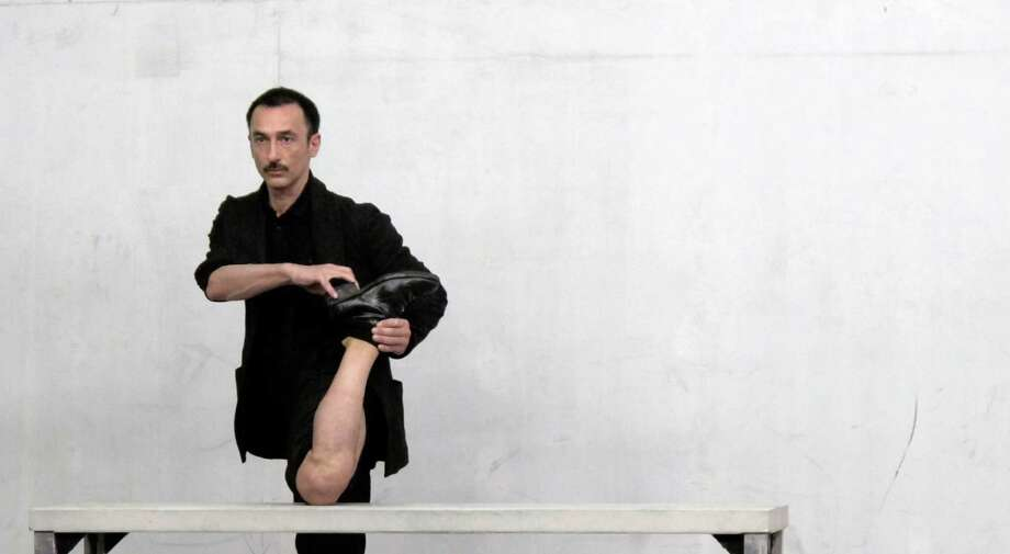 for Dimitris Papaioannou's Primal Matter  Saturday, December 8, 2012, at 8 PM EMPAC, Troy, NY  (Nikos Dragonas)