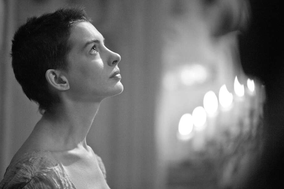 """Beth Dolinar can't wait to see Anne Hathaway's portrayal of Fantine, a struggling, sickly mother forced into prostitution in 1800s Paris, in the upcoming screen adaptation of Victor Hugo's """"Les Miserables."""" Photo: Laurie Sparham, Associated Press / Universal Pictures"""