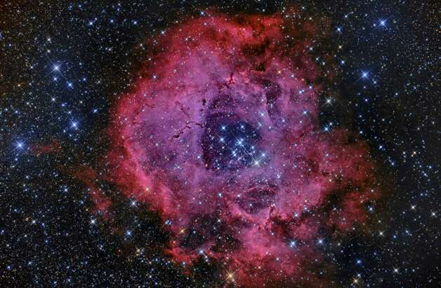The Rosette Nebula photographed by Jimmy Walker Photo: Courtesy Jimmy Walker