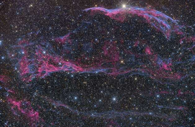 The NGC 6960 supernova remnant photographed by Jimmy Walker Photo: Courtesy Jimmy Walker