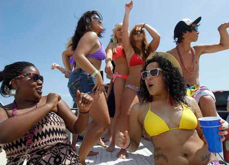 5.Spring break ends on high note for Galveston area: Crowds of students descended on Galveston Island in March.