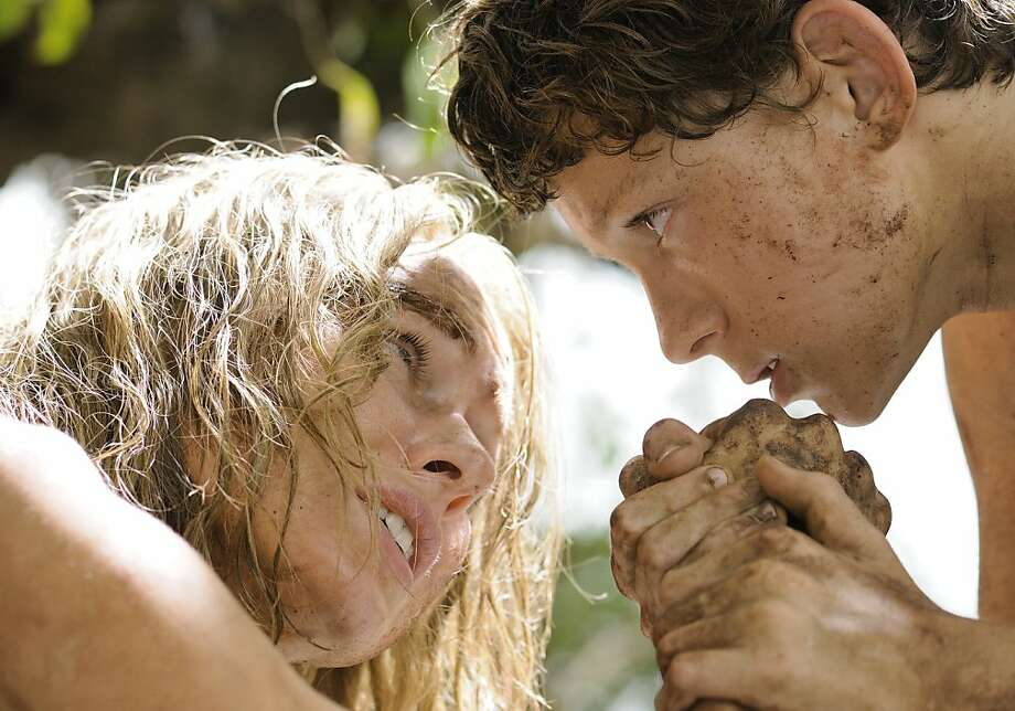 "Naomi Watts plays a mother struggling to survive with her son (Tom Holland) after a tsunami in ""The Impossible,"" based on the disaster that struck Thailand and other countries on Dec. 26, 2004. Photo: Jose Haro, Summit Entertainment"