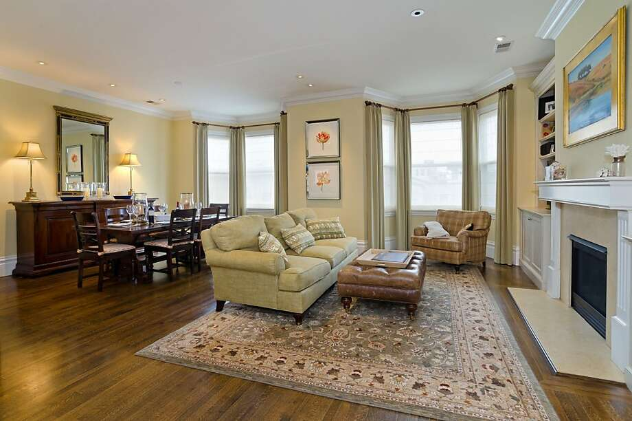 Living and dining room space is open to create more flow inside the home. Photo: Reflex Imaging