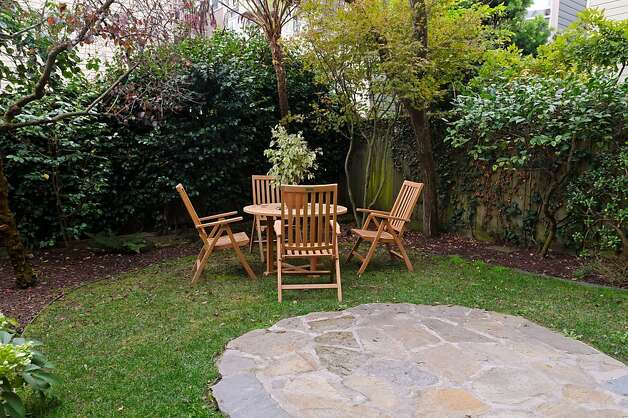 The condo has a shared garden. Photo: Reflex Imaging
