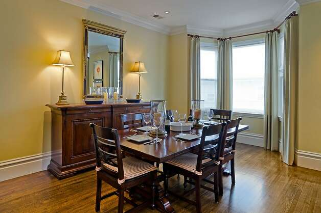 The dining room is an ideal setting for dinner parties. Photo: Reflex Imaging