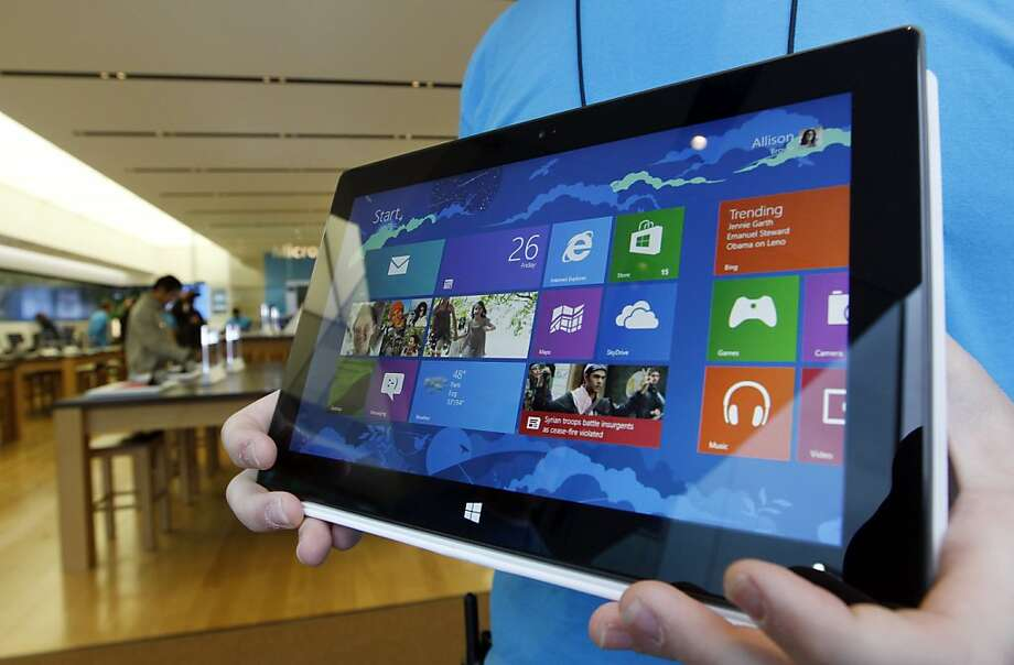 Global sales of tablet devices are likely to hit 282.7 million units in four years, IDC says. Photo: Elaine Thompson, Associated Press