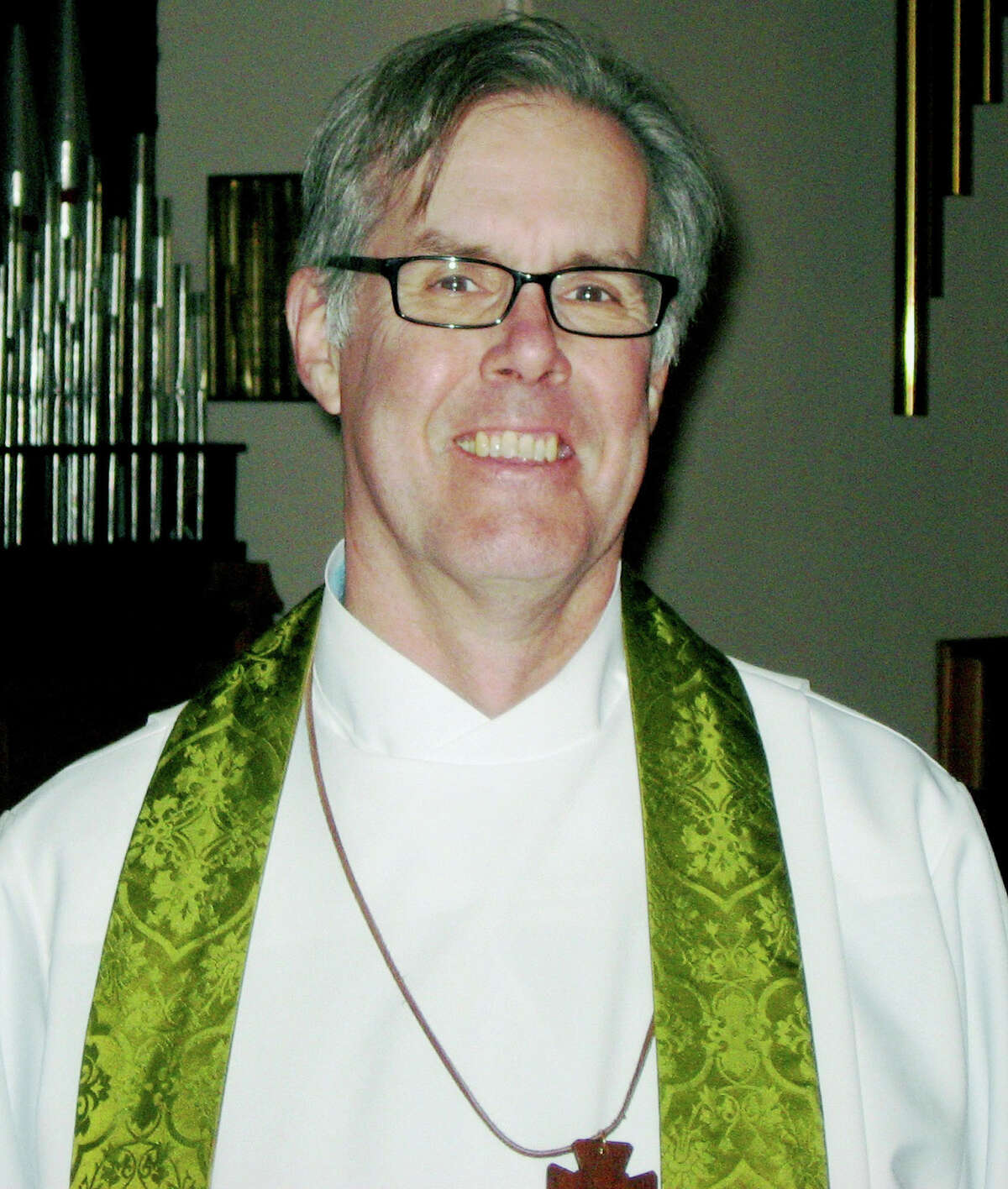 The Rev. Jack Gilpin, a Roxbury resident, will be ordained Dec. 15, 2012 as the priest for St. John's Episcopal Church in New Milford.