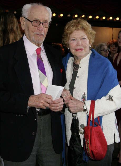 Eli Wallach, with wife Anne Jackson  Photo: File Photo, Associated Press / AP