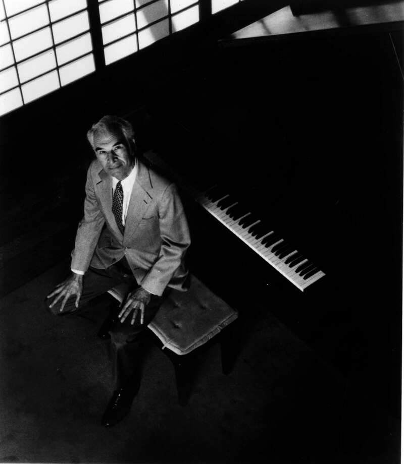 Publicity photo of Dave Brubeck from April 1990. (Contributed Photo)