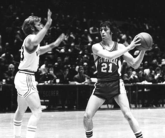 Fairfield University great John Ryan was the Stags' point guard in the early 1970s. Photo: Contributed Photo