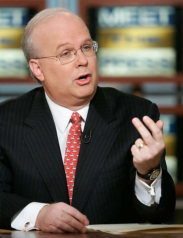 Karl Rove Photo: Alex Wong, AP