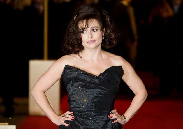 British actress Helena Bonham Carter poses for photographers on the red carpet ahead of the world premiere of Les Miserables in central London on December 5, 2012. AFP PHOTO/Leon Neal/Getty Images Photo: LEON NEAL, AFP/Getty Images / AFP