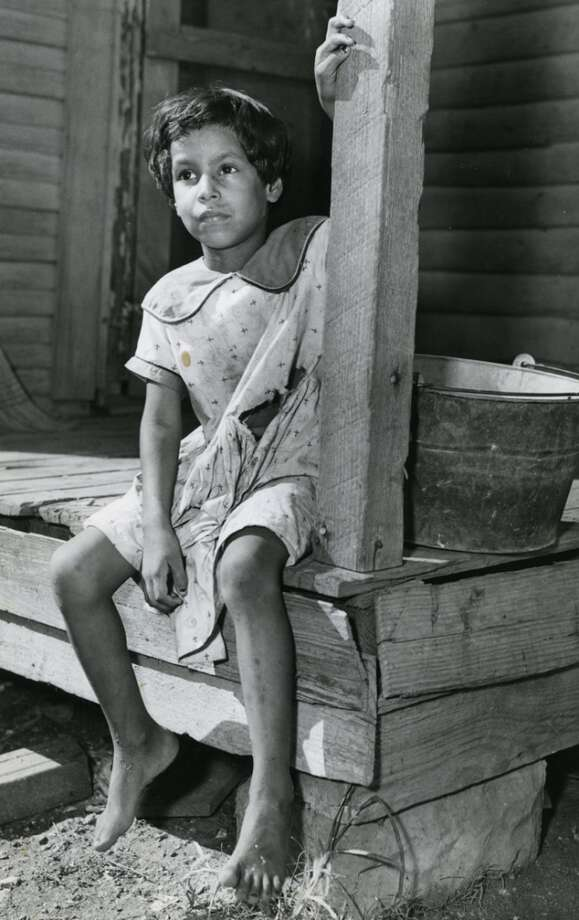 Unidentified Houston girl, 1958. (Pete Vazquez / Houston Chronicle)