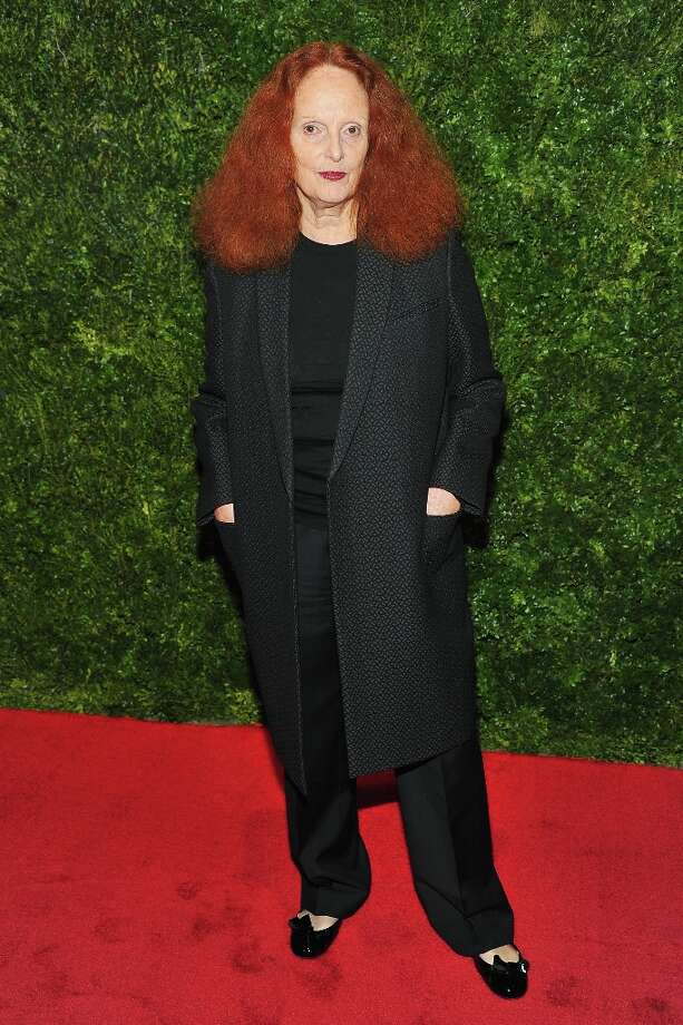 Grace Coddington attends HBO's In Vogue: The Editor's Eye screening at Metropolitan Museum of Art on December 4, 2012 in New York City.  (Photo by Theo Wargo/Getty Images for HBO) Photo: Theo Wargo, Getty Images For HBO / 2012 Getty Images