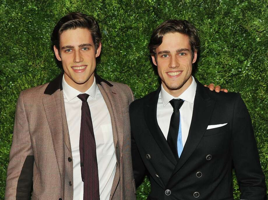 Jordan and Zac Stenmark attend  HBO's In Vogue: The Editor's Eye screening at Metropolitan Museum of Art on December 4, 2012 in New York City.  (Photo by Theo Wargo/Getty Images for HBO) Photo: Theo Wargo, Getty Images For HBO / 2012 Getty Images