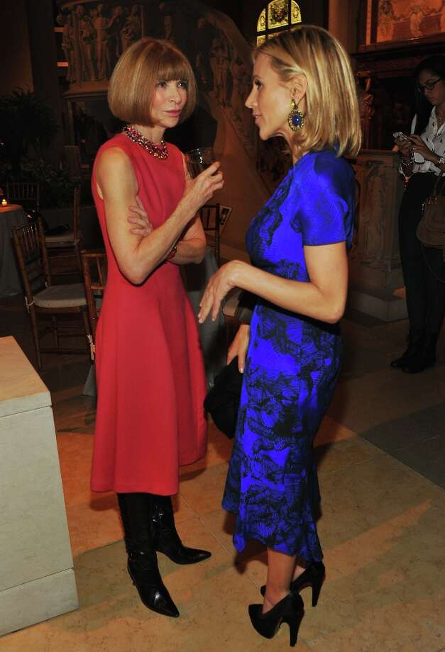 Anna Wintour and Tory Burch attend HBO's In Vogue: The Editor's Eye screening at Metropolitan Museum of Art on December 4, 2012 in New York City.  (Photo by Theo Wargo/Getty Images for HBO) Photo: Theo Wargo, Getty Images For HBO / 2012 Getty Images
