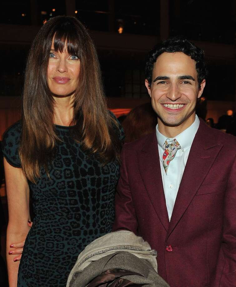 Carol Alt (L) and Zac Posen attend HBO's In Vogue: The Editor's Eye screening at Metropolitan Museum of Art on December 4, 2012 in New York City.  (Photo by Theo Wargo/Getty Images for HBO) Photo: Theo Wargo, Getty Images For HBO / 2012 Getty Images