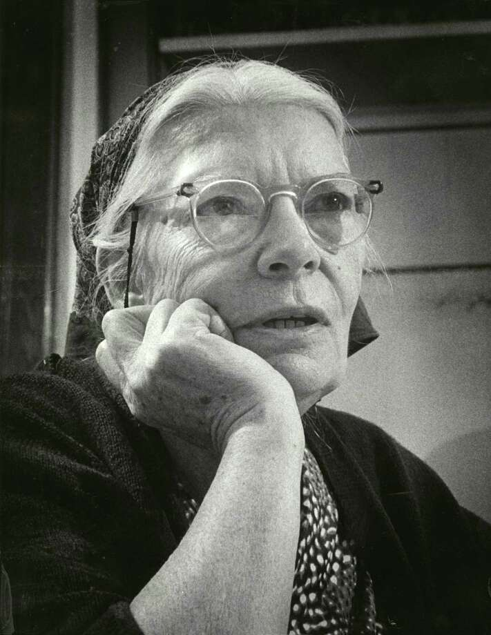 Dorothy Day founded the Catholic Worker Movement in 1933 and became what many consider to be an American saint. She is seen here in 1968. Political diversity is a strength of the church. Photo: Courtesy, Marquette University