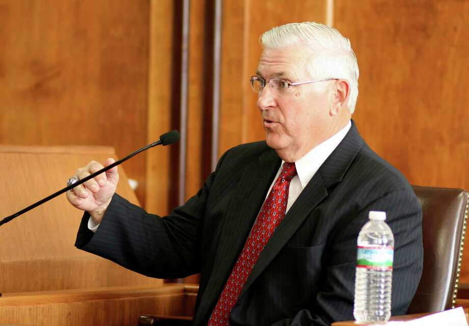Retired Northside Independent School District Superintendent John Folks pointed out a state constitutional prohibition on appropriating state funds for religious purposes, which includes religious schools. Photo: Unknown