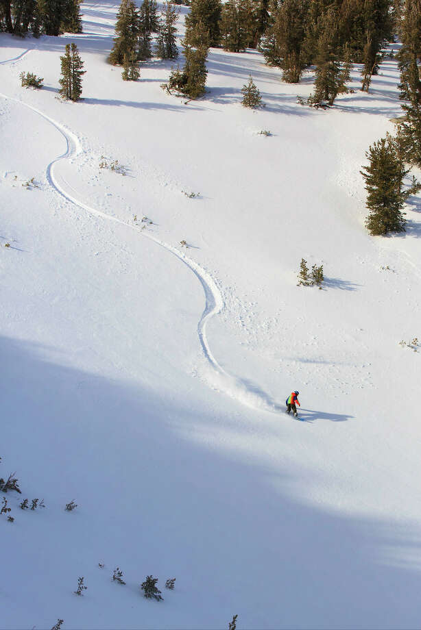 Fresh tracks at Heavenly, Dec. 3, 2012. (Courtesy: Heavenly)