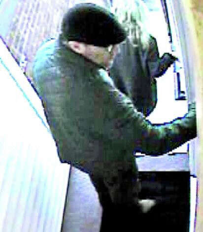 "This surveillance image showed Andrew Robert Levene, the apparent killer of Yekutiel ""Kuti"" Zeevi, in the Compo Shopping Center, a day before Zeevi was killed. Photo: Contributed Photo / Westport News contributed"