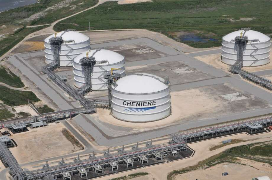 Federal regulators recently gave approval to Houston-based Cheniere Energy's plans to export liquefied natural gas from its Sabine Pass terminal in southwest Louisiana. / handout