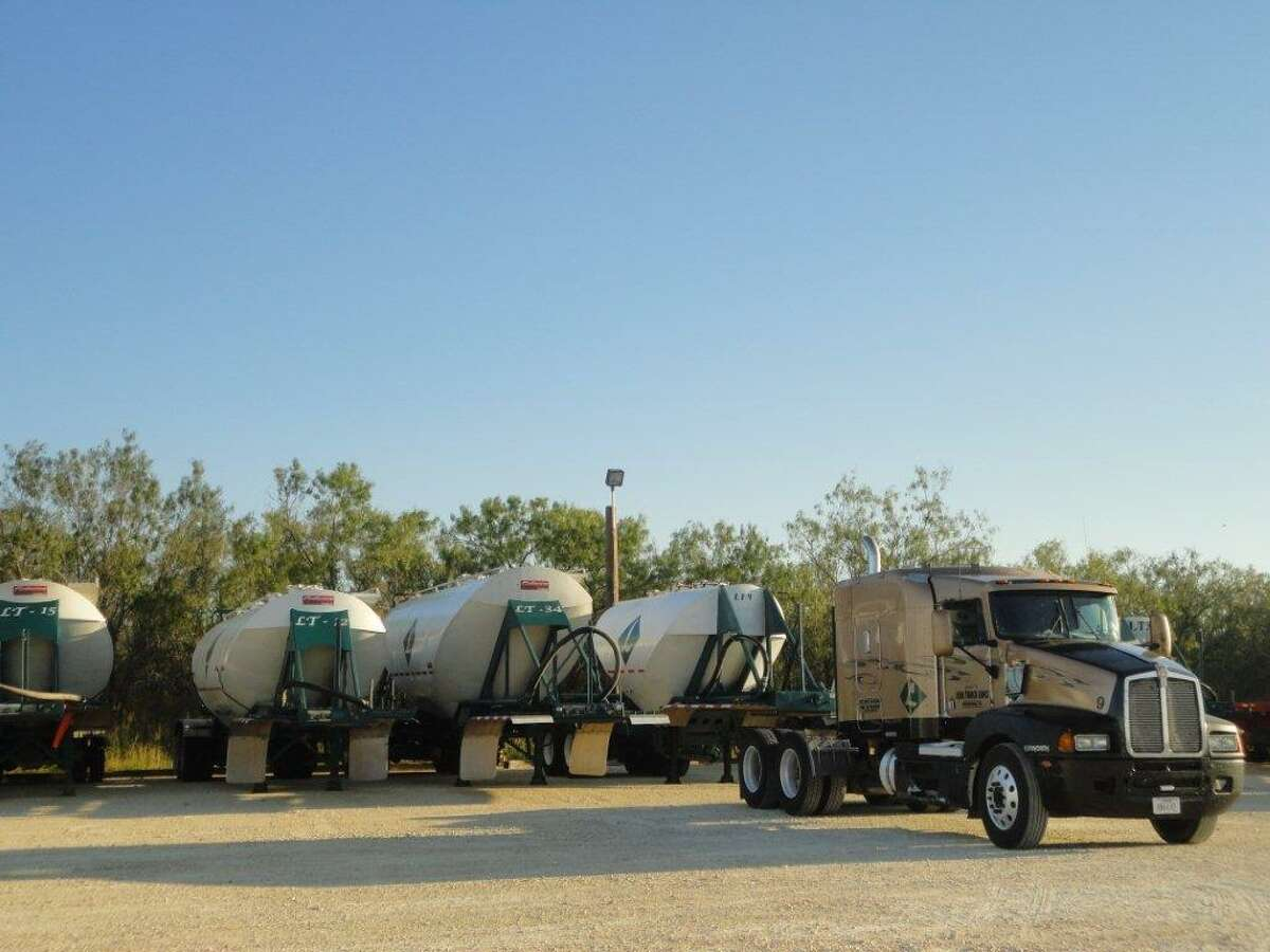 Lake Truck Lines Inc. has moved its headquarters from Houston to San Antonio, growing from 12 trucks to 67.