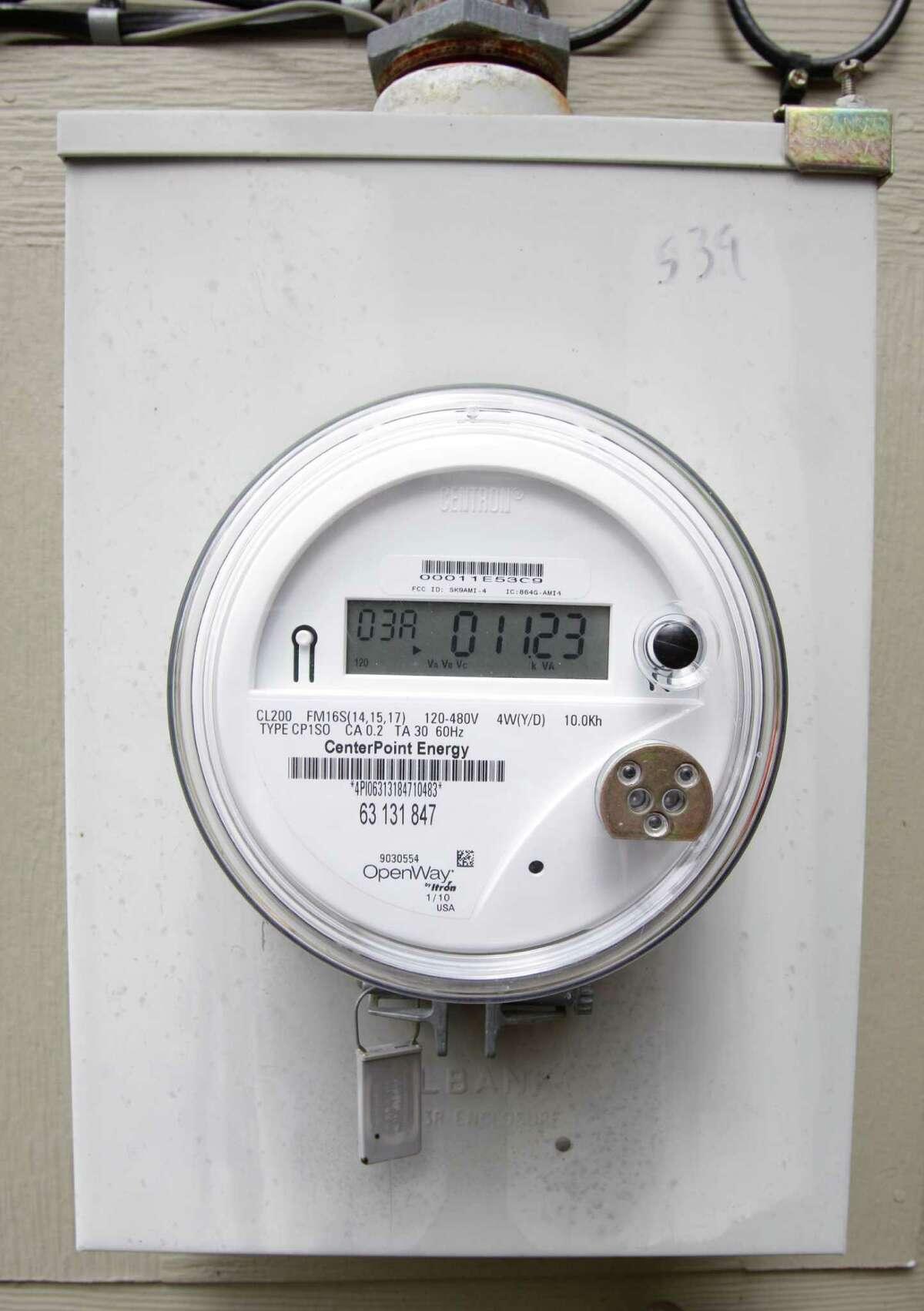 CenterPoint began installing smart meters in Houston in 2009.