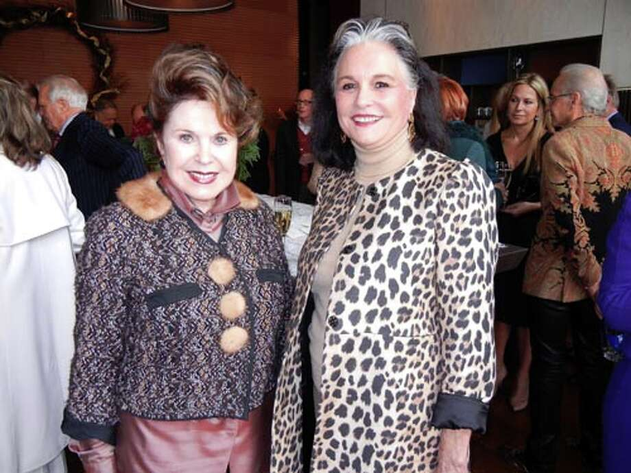 Ann Moller Caen (left) with Diane Chapman Kelly (Catherine Bigelow)