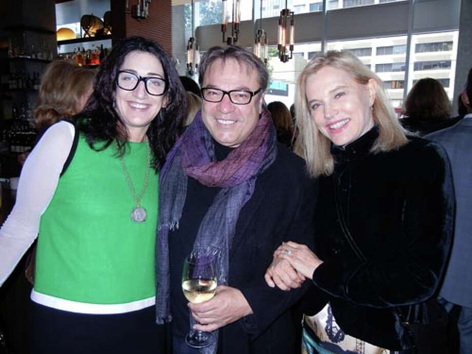 Pam Baer (left) with Stanlee Gatti and Karen Diefenbach (Catherine Bigelow)
