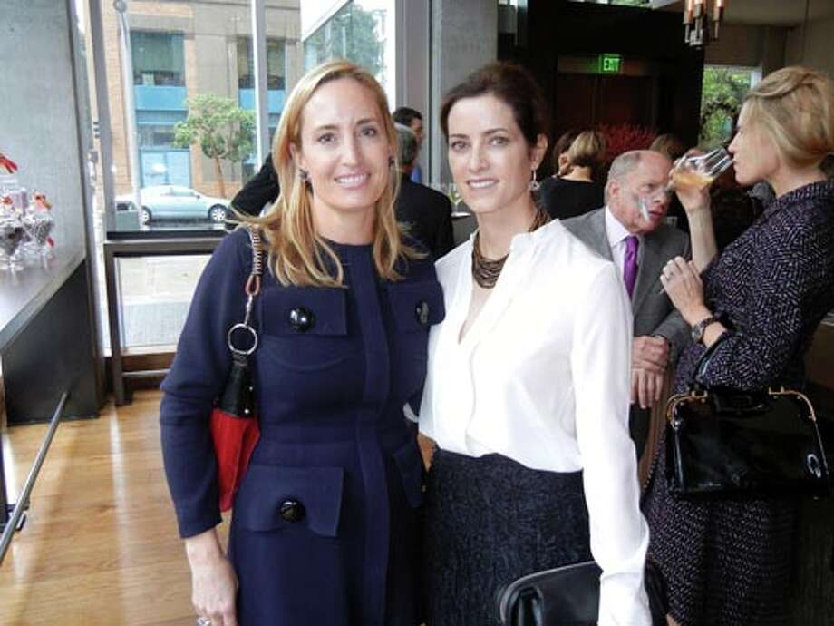 Deborah Lee Minor (left) and Carol Bonnie (Catherine Bigelow)