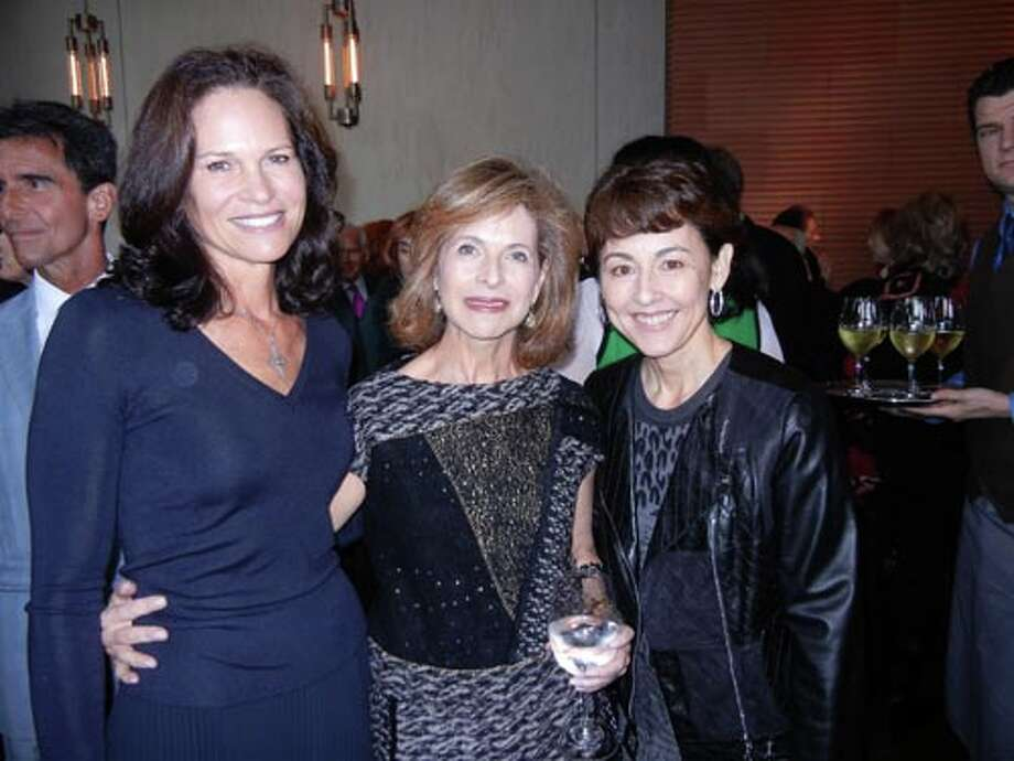 Randi Fisher (left) with Lydia Shorenstein and Sako Fisher (Catherine Bigelow)