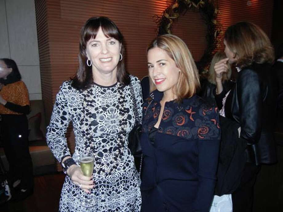 Allison Speer (left) and onekingslane co-founer Alison Pincus (Catherine Bigelow)