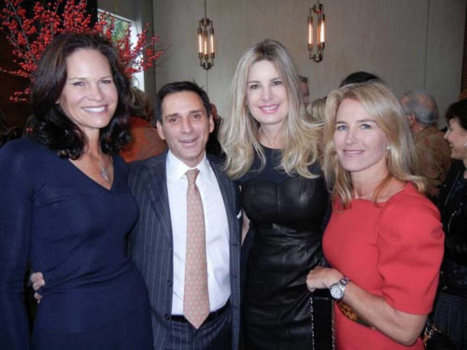Randi Fisher (left) with Seth Matarasso, Suzanne Levit and Summer Tompkins Walker (Catherine Bigelow)