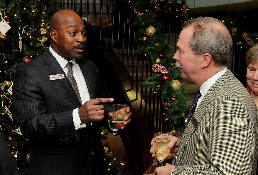 Were you Seen at KeyBank's annual Gifts to the Community holiday reception at Key Plaza in Albany