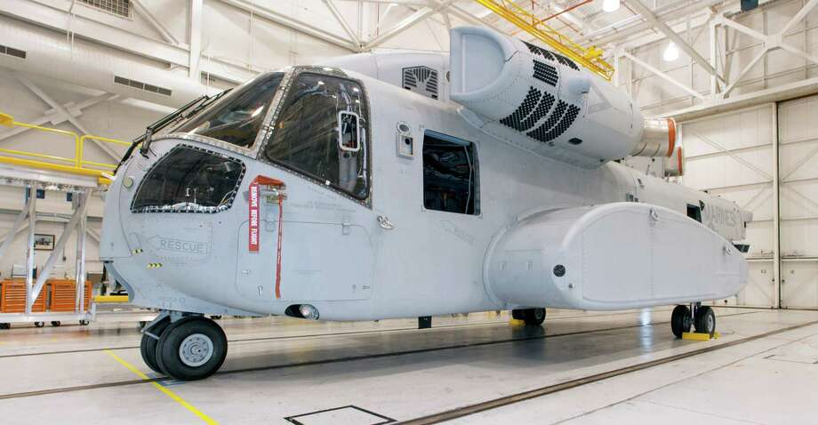 Sikorsky's prototype CH-53K heavy lift helicopter is ready for testing, the company said on Wednesday, Dec. 5, 2012. Photo: Contributed Photo / Stamford Advocate Contributed