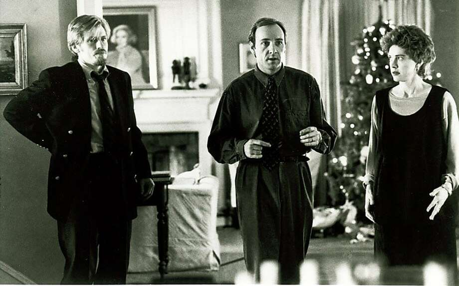 """The Ref"" -- Denis Leary is hilarious, Kevin Spacy is magical, and Judy Davis usually compelling. But not in this movie. It's ""Home Alone,"" but with grownups. Photo: Buena Vista Pictues 1994"