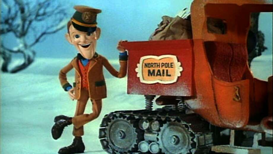 "Fred Astaire voices the mail carrier in the 1970 TV program ""Santa Claus Is Comin' to Town"" - a treasure of holiday sentiment and stop-motion animation. Photo: Rankin/Bass Productions 1970"
