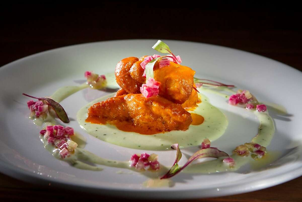 The Buffalo Sweetbreads at Corner Store restaurant in San Francisco, Calif., is seen on Tuesday, December 4th, 2012.