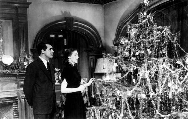 "Cary Grant is the angel Dudley and Loretta Young is Bishop Brougham's wife, Julia, in ""The Bishop's Wife."" Photo: RKO Pictures 1947"