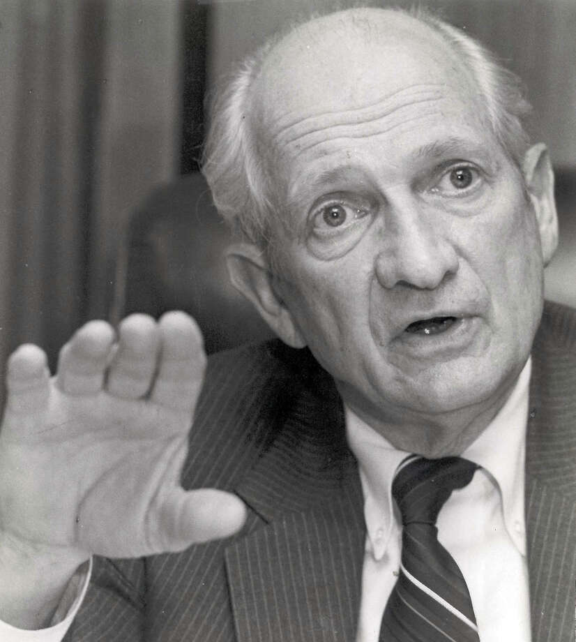 Jack Brooks, shown in 1987, served in the U.S. House for 42 years until his defeat in 1995.