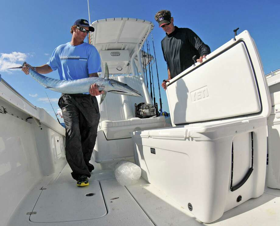 Yeti Coolers dominate the market in high-end ice chests, and the durable, well-designed containers made by an Austin-based company are popular with Texas anglers and hunters. Photo: Picasa