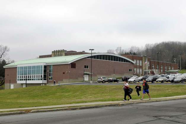 Watervliet Junior Senior High School in Watervliet, NY Tuesday Dec. 4, 2012. (Michael P. Farrell/Times Union) Photo: Michael P. Farrell