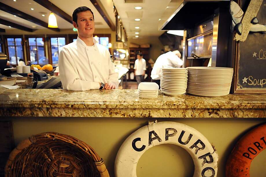 Chef and 3rd generation owner Vince Capurro is seen in the kitchen of Capurro's Restaurant at Fisherman's Wharf in San Francisco, CA Wednesday December 5th, 2012. Photo: Michael Short, Special To The Chronicle