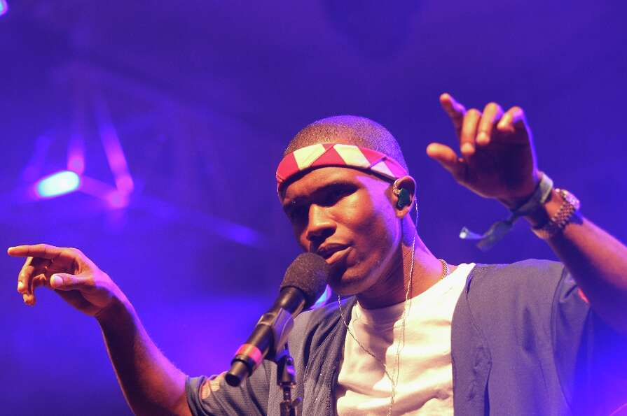 Singer Frank Ocean is one of the top nominees, with six nominations, including Record of the Year, A