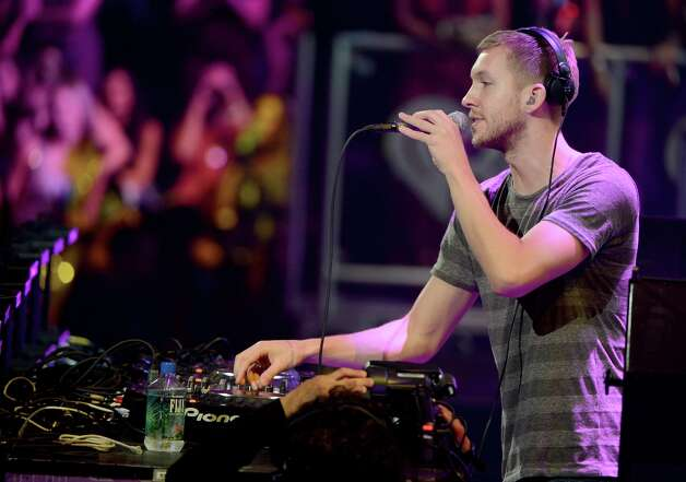 DJ/producer Calvin Harris is a multiple nominee, on his own for Best Dance Recording and with Rihanna for We Found Love. Photo: Michael Kovac / 2012 Getty Images