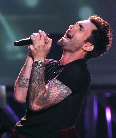 Adam Levine of Maroon 5 onstage at The GRAMMY Nominations Concert Live!! held at Bridgestone Arena on December 5, 2012 in Nashville, Tennessee.  (Photo by Kevin Winter/Getty Images) Photo: Kevin Winter, Getty Images / 2012 Getty Images