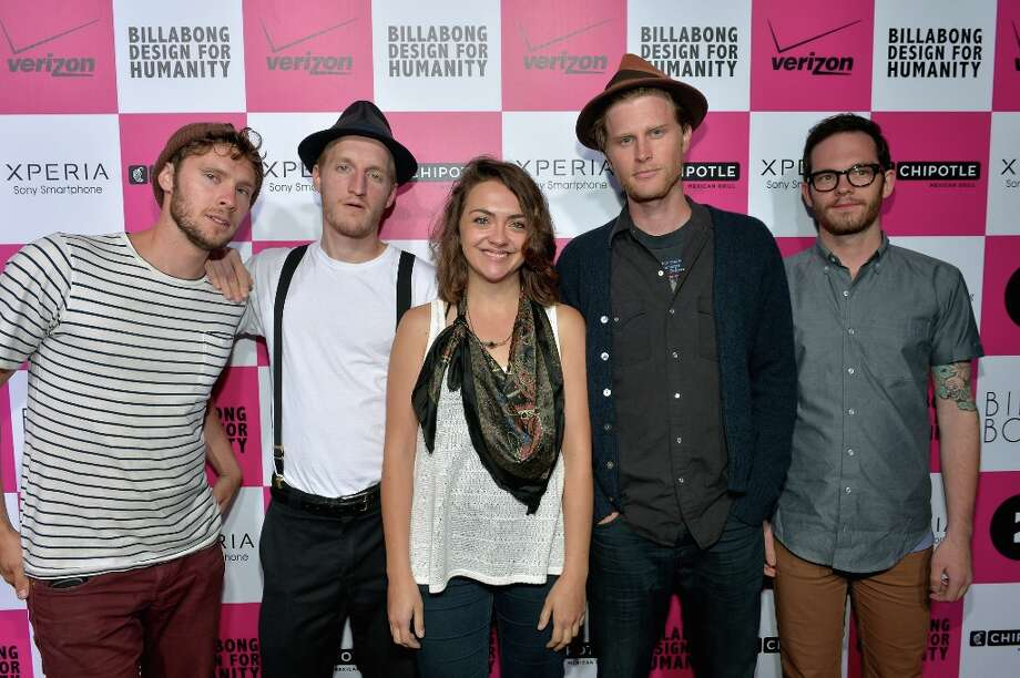 Ho, Hey! The Lumineers are up for Best New Artist. Photo: Charley Gallay / 2012 Getty Images