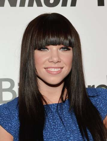 Carly Rae Jepsen didn't make the Best New Artist cut, but she did score two nominations — Song of the Year and Best Solo Pop Performance. (Photo by Mike Coppola/Getty Images) Photo: Mike Coppola, Getty Images / 2012 Getty Images