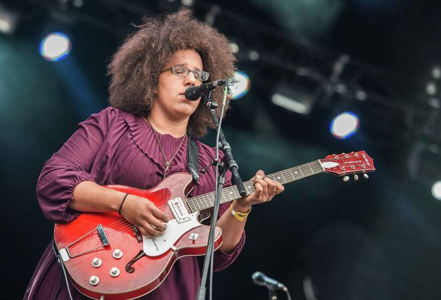 Alabama Shakes picked up a Best New Artist nod, as well as two others.  (Photo by David Wolff - Patr